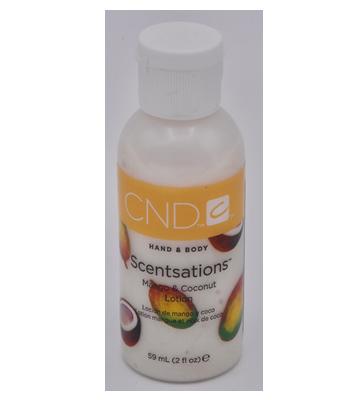 Handcrèmes sensations Mango & Coconut